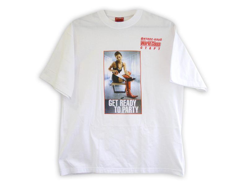 шелкотрафаретная печать футболки