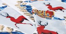 Флаги Нижегородской области, материал - флажная сетка